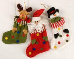 Calcetines navideños Modelo 1