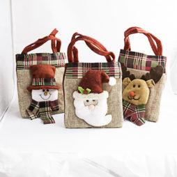 bolsitas navideñas, detalles de navidad, regalos de navidad