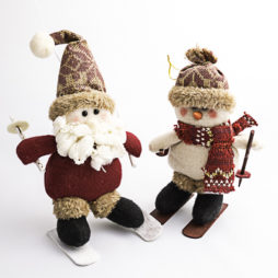 Figuritas Navideñas en la nieve