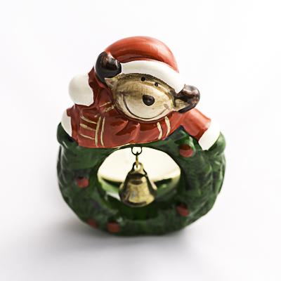 Portavelas navideños - detalle de navidad- regalo de navidad