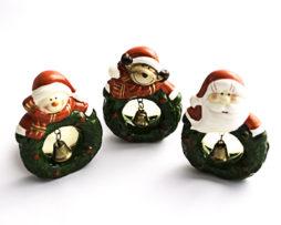Portavelas navideños - detalles de navidad - regalos de navidad