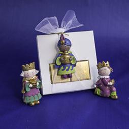 Reyes Magos con napolitanas de chocolate