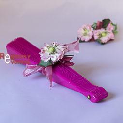 abanico fucsia regalo de boda