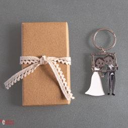 detalle y regalo de boda - llavero boda