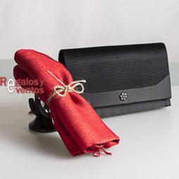 pashmina en color rojo para boda comunion y bautizo